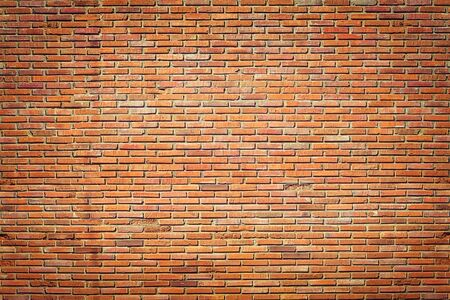 Red brick wall Texture Design. Empty red brick Background for Presentations and Web Design. A Lot of Space for Text Composition art image, website, magazine or graphic for loft design.