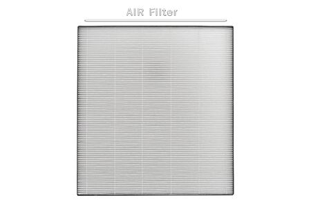 AIR Filter ,New Air purifier filter for replacement isolate on white background