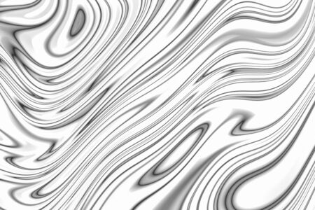 Black and white abstract acrylic pouring marble paint texture background for design artwork or decoration.