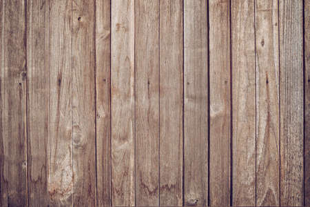 Wood panel texture background.Top view of weathered vintage wooden with cracks. Brown rustic rough wood texture and pattern for backdrop 版權商用圖片