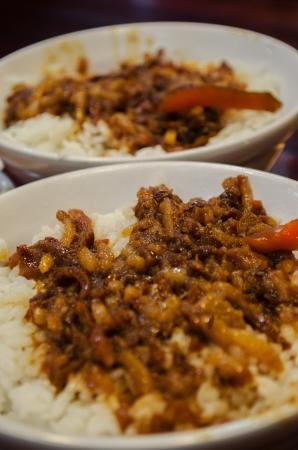 mince: Taiwan Mince Braise Pork Rice