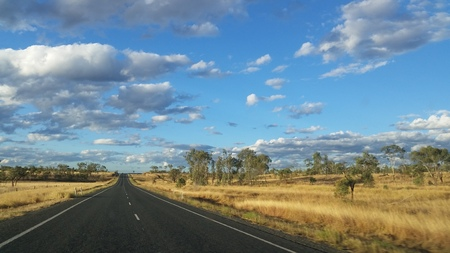 the outback: Almost Outback, Australia