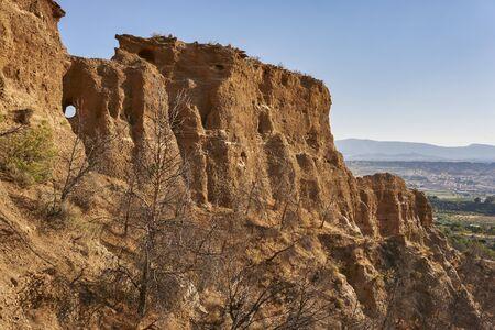 Guadix desert, Granada. Spain Reklamní fotografie