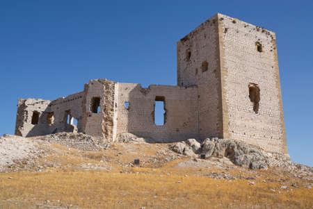ruins of the star castle in Teba, Malaga, Spain Redakční