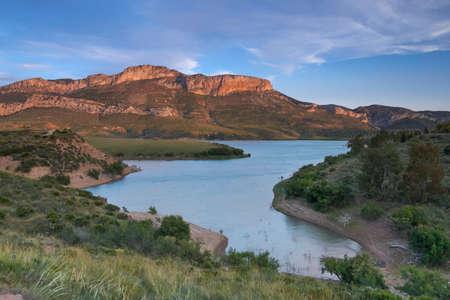 head of the Guadalhorce reservoir, Malaga. Spain