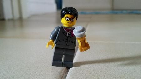tripped: Lego speaker tripped