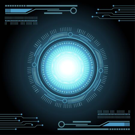 Electronic technology background