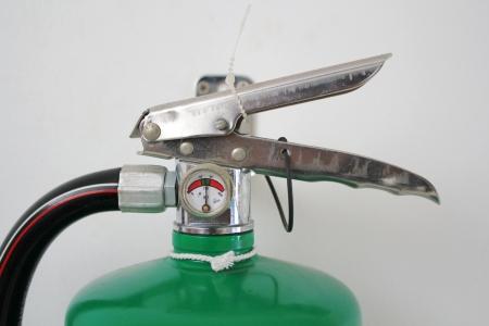 extinguishers: Fire extinguishers.