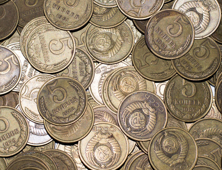 large group of items: The dream of every numismatist - this old coins