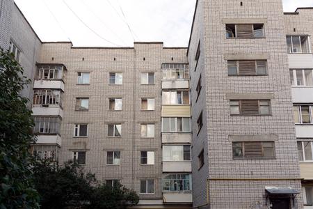 Multi-storey brick house