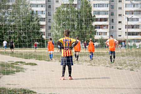 Street football in Russia Editorial