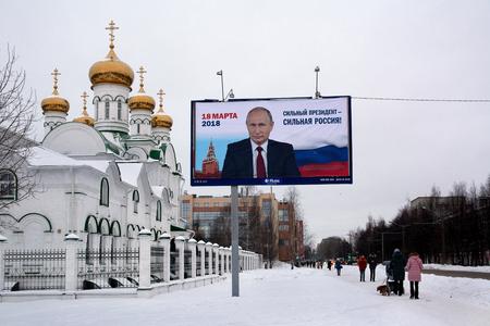 Pre-election poster in Russia