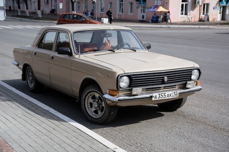 The old Soviet-made GAZ 24