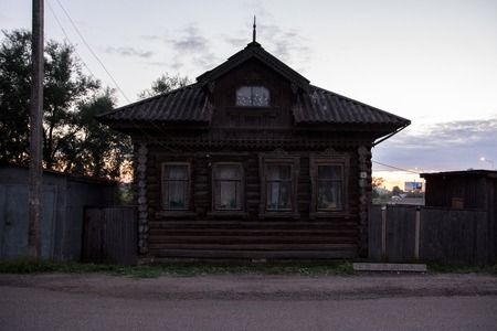 House is Made of Old Timber