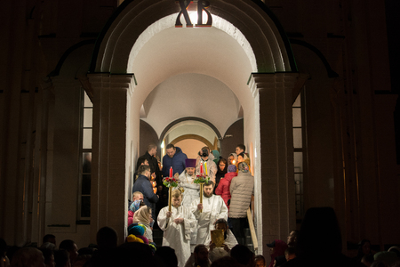 Religious procession in the Church Editorial