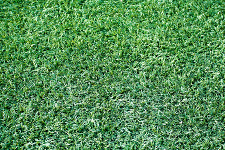 Green artificial turf stadium, sport summer background