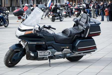 Honda Gold Wing GL1500 Editorial