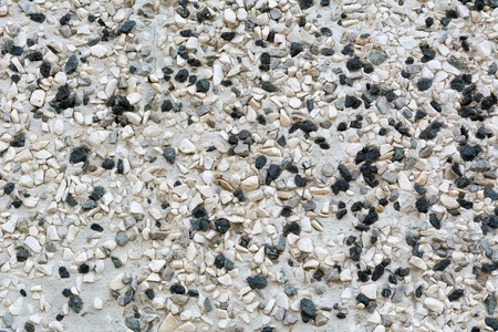 Pebble wall texture background, empty template for background