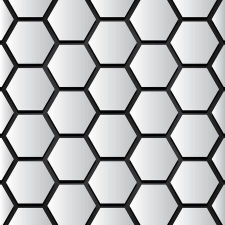 Hive Pattern Original Colors. Background concept.