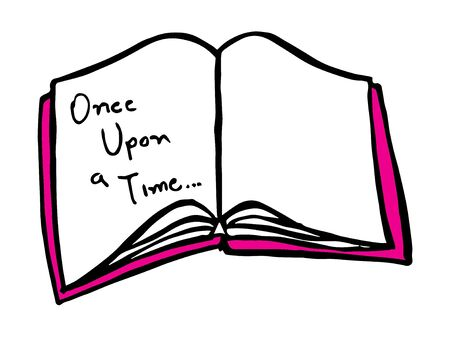 open book cartoon vector symbol icon design. Beautiful illustration isolated on white background