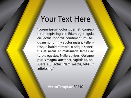 Infographic with realistic metallic texture. Vector in high quality. Colorful.