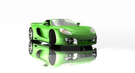 custom car: cg car Stock Photo
