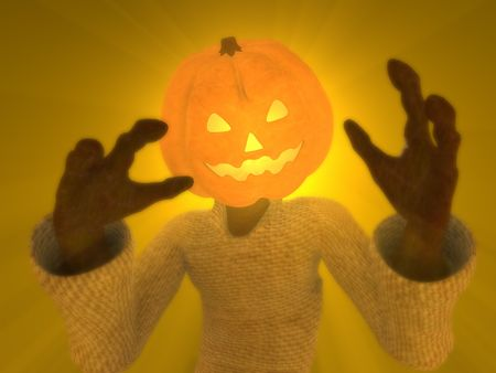 hd: pumpkin man