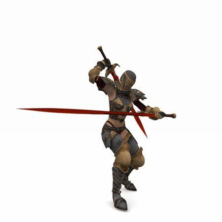 slayer: warrior woman