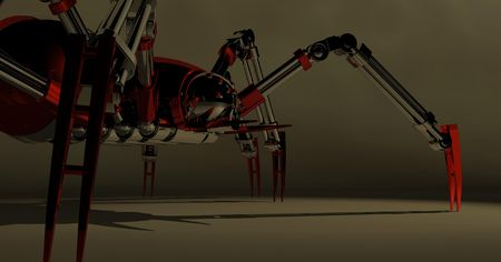 mechanical spider photo