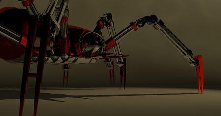 alive: mechanical spider