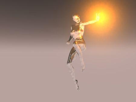 hidef: silver girl