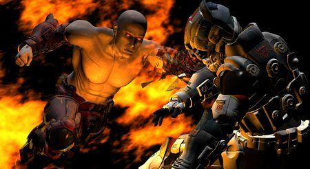 epic battle super punch