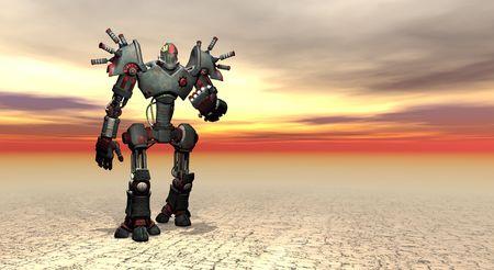m�quina: robot m�quina de guerra