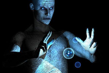 summon: blue mage
