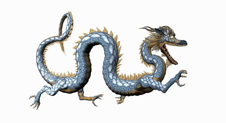 feirce: asian dragon