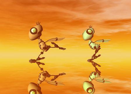 alive: robot birds