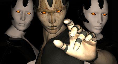 alive: female cyborgs
