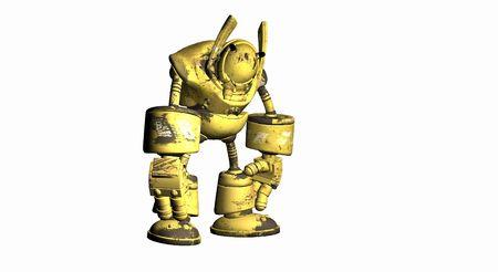shutdown: worker robot shutdown