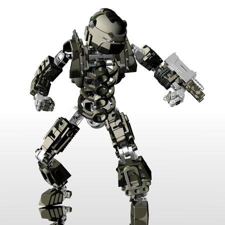 cyborg: robot