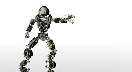 alive: robot