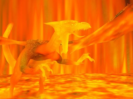 feirce: dragon consumed in fire