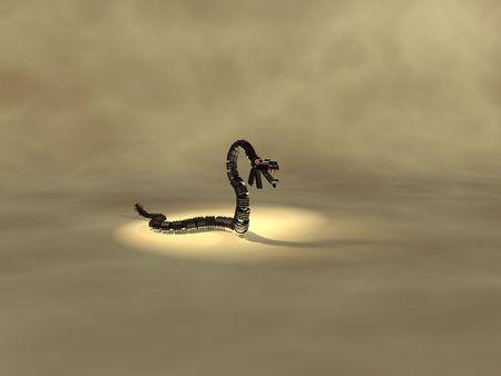alive: robot snake