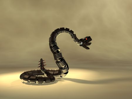 robot snake Stock Photo - 3848099