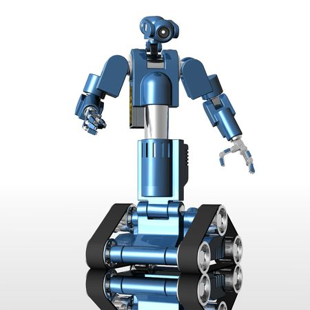 medical robot Zdjęcie Seryjne