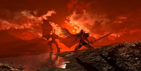 天使の vs 悪魔