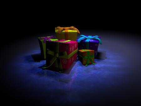 christmas gifts Stock Photo - 4014018