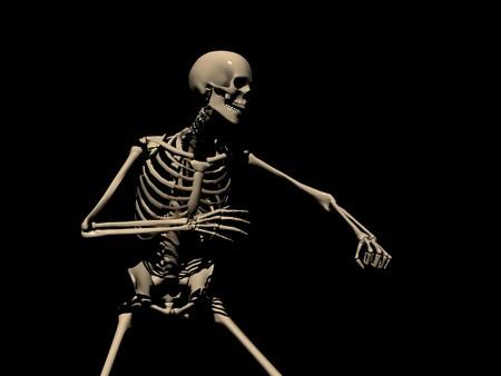 skeleton 版權商用圖片