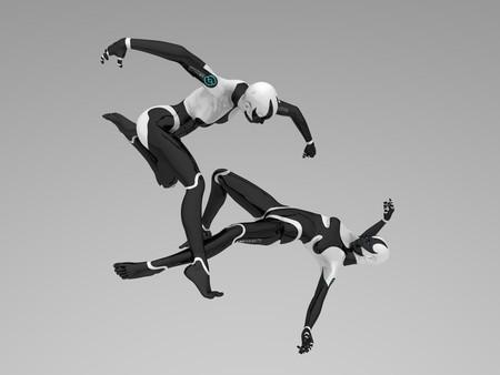 sexy army: female cyborgs