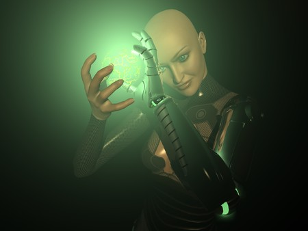 female android photo