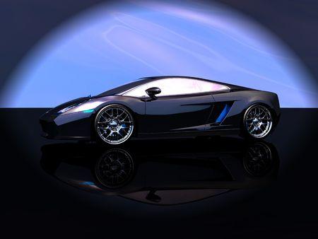 shiny car: sports car Stock Photo